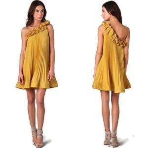 {BCBGMaxAzria} Cece Pleated Dress